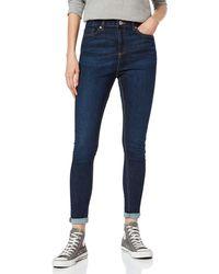 Miss Selfridge Lizzie Long Skinny Jeans - Blue
