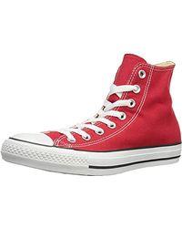 Converse Chuck Taylor All Star Speciality Hi, Zapatillas Altas de Tela Unisex Adulto - Rojo