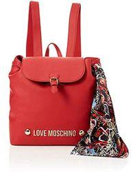 Love Moschino - Borsa Bonded Pu Backpack Handbag - Lyst
