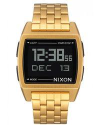 Nixon Uhr A1107502 unixex Gold Basis - Mettallic
