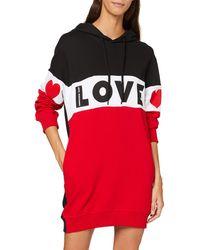 Love Moschino - Long Sleeve Dress - Lyst