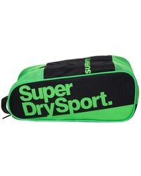 Superdry Sports Bag - Neon - Grey