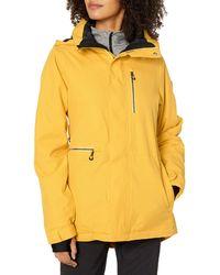 Volcom Womens Shelter 3d Strech Jacket - Yellow