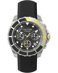 Nautica - Orologio Cronografo Quarzo Uomo con Cinturino in Silicone NAPPTR002 - Lyst