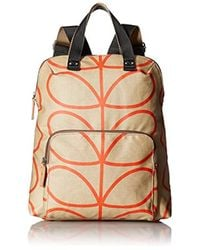 Orla Kiely - Stone Backpack Tote - Lyst