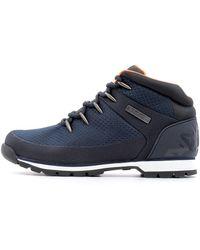 Timberland Euro Sprint Hiker Boots Navy 8 Uk - Blue