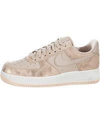 ced0c725075fa Nike Air Force 1' 07 Se Premium Shoe in Metallic - Lyst