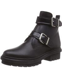ALDO Anne, Bottes Motardes - Noir (Black Leather 97), 36 EU