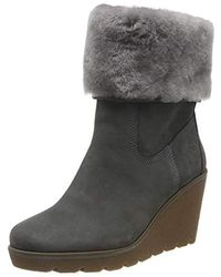 Timberland Paris Height Shearling Chelsea, Bottes - Gris
