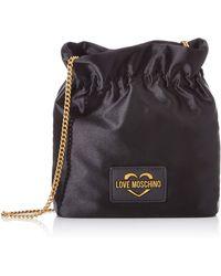 Love Moschino Jc4250pp0a Bucket Style Handbag - Black