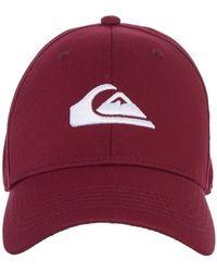 Quiksilver Snapback Cap for - Snapback-Cap - Lila