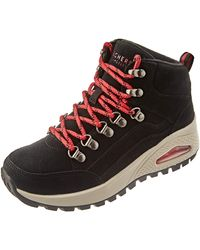 Skechers Uno Rugged Ankle Boot - Blue