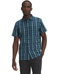 The North Face S/s Hammetts Shirt Ii - Blue