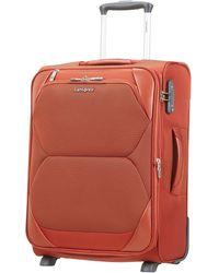 Samsonite Dynamore Upright 55/20 Expandable Length 40Cm - 2.5 KG, 43 L Bagage cabine, 55 cm, 50 liters, Orange (Burnt Orange) - Multicolore