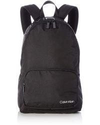 Calvin Klein Jeans Item Backpack W/Zip Pocket - Negro
