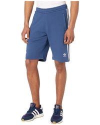adidas Originals - Mens 3-stripes Shorts,blue - Lyst