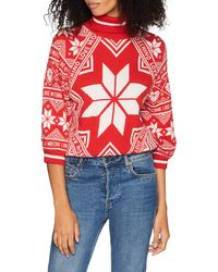 Love Moschino Jumpers Pull - Rouge