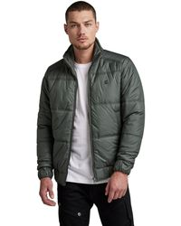 G-Star RAW S Meefic Quilted Vest - Blue