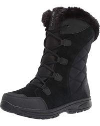 Columbia Womens Ice Maiden Ii Snow Boot - Black