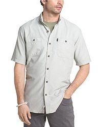 G.H.BASS - Explorer Fancy Short Sleeve Plaid Shirt - Lyst