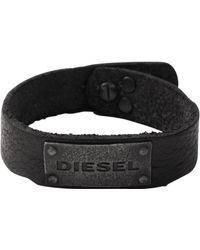 DIESEL Armband DX0569040 - Schwarz