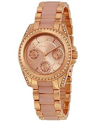 Michael Kors - Mini Blair Rose Gold-tone Watch Mk6175 - Lyst