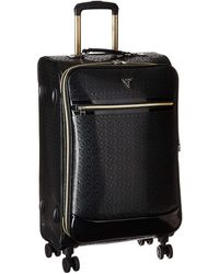 "Guess Rancho 20"" 8-wheeler Carry-on Luggage - Black"