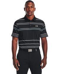 Under Armour Playoff 2.0 Golf Polo - Black