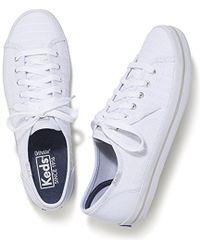 Keds - Kickstart Eyelet Stripe Sneaker - Lyst