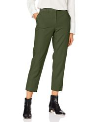 Dorothy Perkins Forest Ankle Grazer. Trousers - Green
