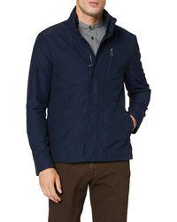 Geox M Vincit Coat - Blue