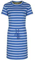 Regatta S Blue Harrisa Cotton Dress 18