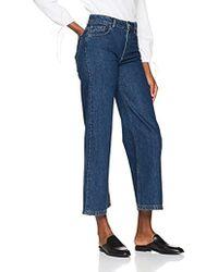 Filippa K - Ollie Indigo Blue Wash Flared Jeans - Lyst