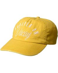 Billabong Surf Club Hat - Yellow