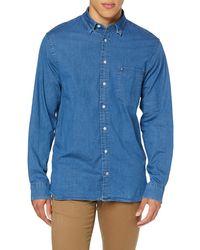Tommy Hilfiger Organic Stretch Denim Shirt - Bleu