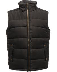 Regatta S Standout Altoona Insulated Bodywarmer Jacket - Black