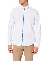 Springfield Camisa Tapeta - Blanco