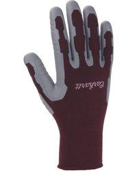 Carhartt Pro Palm C-grip Glove,dusty Plum,small - Purple