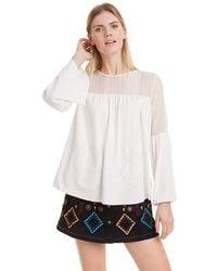 Desigual T-shirt Ivana - White