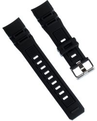 Calypso St. Barth Watch Band 19mm Pu Strap Black For K5656 Uka5656/s An Offer Made By Imppac