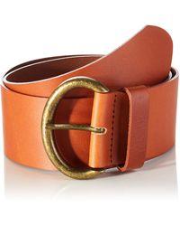 Benetton (z6erj) Cintura Belt - Orange