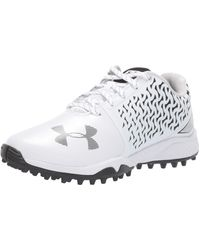 Under Armour Finisher Turf Lacrosse Shoe - White