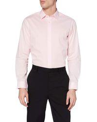 FIND Camisa Formal de Corte Estándar - Blanco