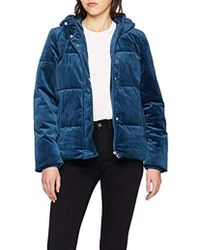 Vero Moda - Vmpaddy Velvet Short Jacket Coat - Lyst