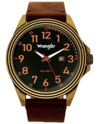Wrangler S 48mm Watch W/strap 48mm Black