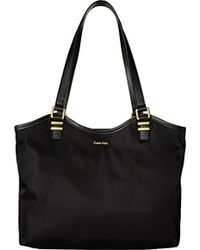 CALVIN KLEIN 205W39NYC - Bailey Nylon North/south Tote - Lyst