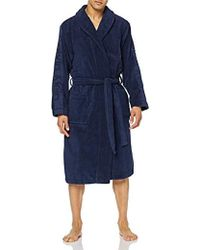Calvin Klein Bathwear Robe Accappatoio (Pacco da 2 Uomo - Blu