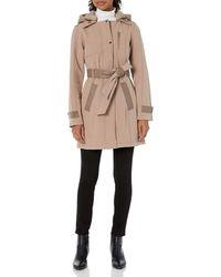 Steve Madden Softshell Fashion Jacket - Natural