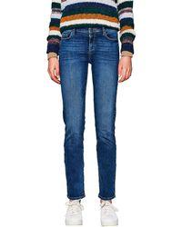 Esprit 997ee1b812 Jeans Straight - Blu