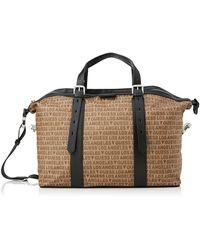 Guess Dan La Duffle Bag - Brown